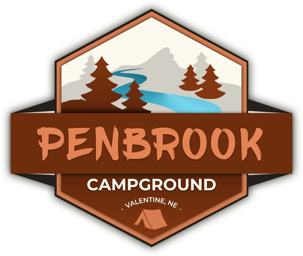 Niobrara Camping- Penbrook, with Shades of brown and trees and river