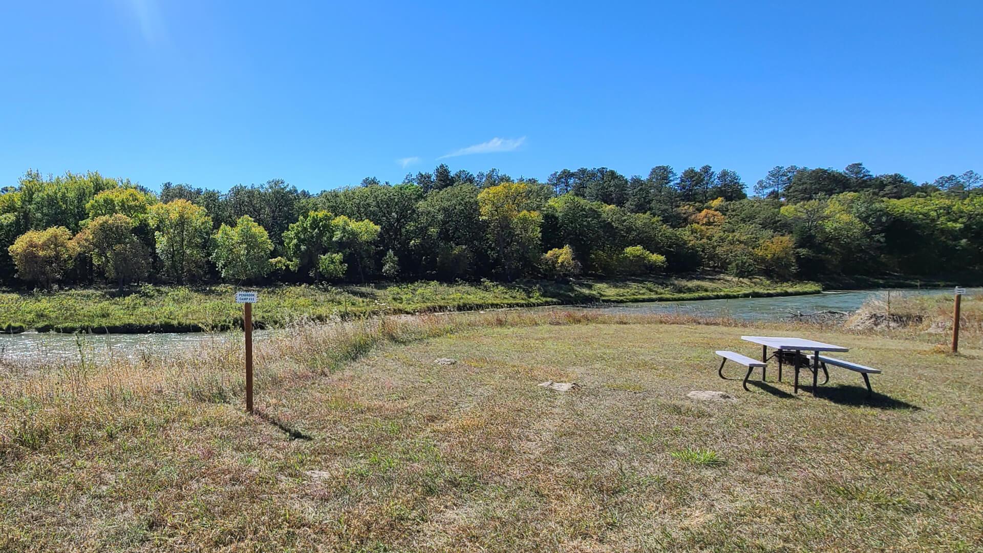 Open Camp Spot near the Niobrara River
